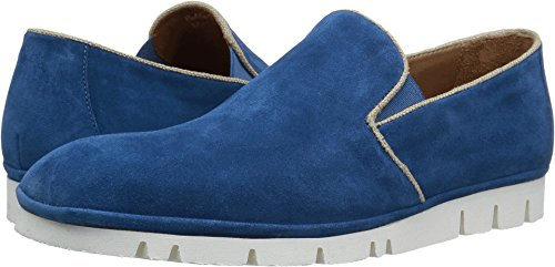 Donald J Pliner Men's Baldo Slip-on Loafer, Navy Washed Suede, 12 M US BALDO-MA