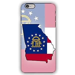 Georgia USA State Flag iPhone 6 Armor Phone Case