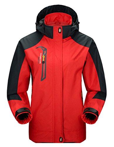 Cloudy Hooded Waterproof Jacket Softshell Women Sportswear
