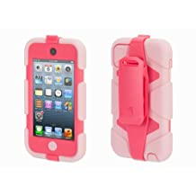 Griffin Pink/Hot Pink Survivor All-Terrain Case + Belt Clip for iPod touch (5th/ 6th gen.) - Extreme-duty case