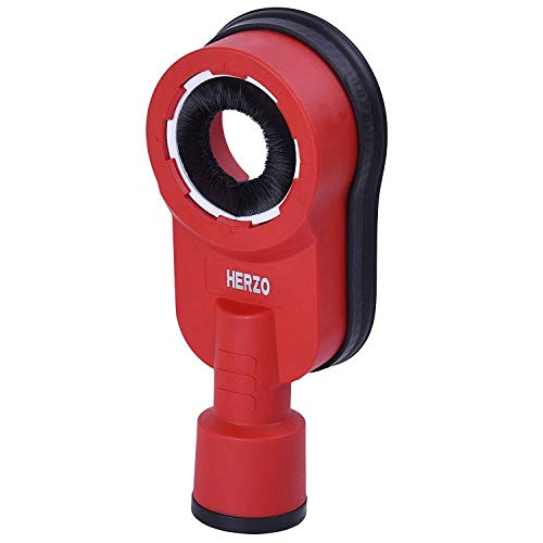 (HERZO SDS-Max Hammer Dust Collection Attachment)