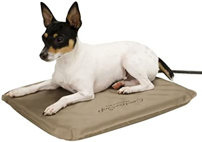 K&H Pet Products Lectro-Soft Outdoor Heated Bed with FREE Cover - MET Safety Listed by K&H Manufacturing
