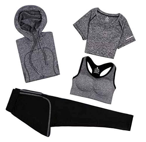 Rapida Tuta Per Abbigliamento h Da Temptation Donna Asciugatura Sportiva Multicolore02 Black 7gw0W