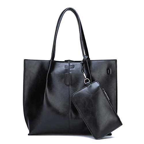 Black Bandoulière Sac Femmes 2pc Set Main 36cm11cm27cm À p8qBwPxwO
