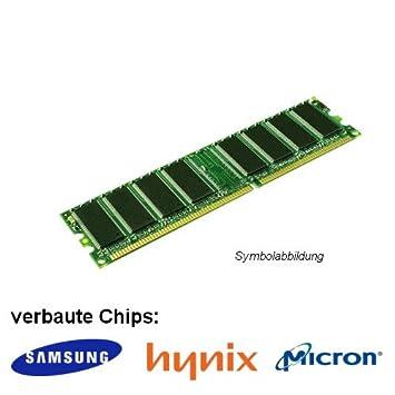 Samsung - Memoria RAM DDR (PC 3200U, 1 x 1 GB, 400 MHz, LO-DIMM, Samsung, Hynix o Micron)