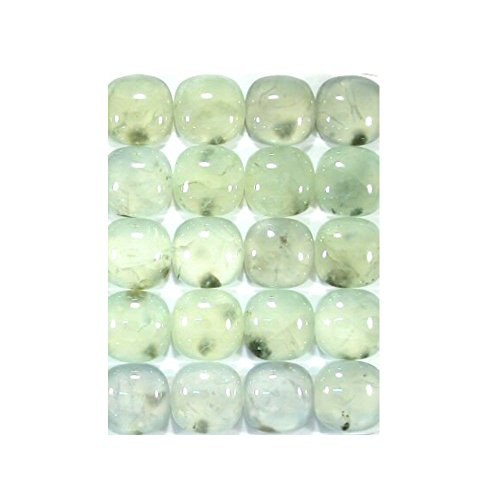 Pair Of Natural Prehnite 20X14 MM Square Cushion Cabochon 2 Pieces Lot 39.20 Ct Loose Gemstone Jewelry Making C5329