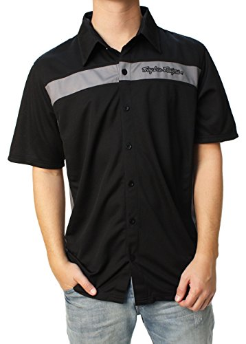 [Troy Lee Designs Pit Shirt Black/Gray] (Troy Lee Designs Pit Shirt)