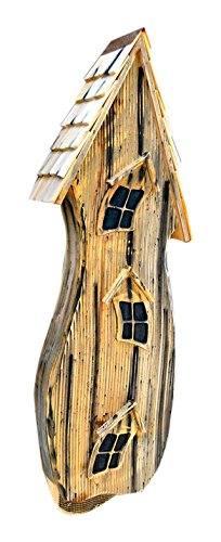 Heartwood 230A Batty Shack Bird House in Natural Finish by Heartwood