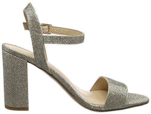 New Look Women's Sims Glitter Platform Sandals Gold (Gold) gPefB3