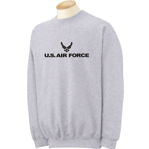 Air Force - Military Style Physical Training Crewneck Sweatshirt in Gray - ()