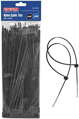 12,000 cable ties 300mm x4.8 mm