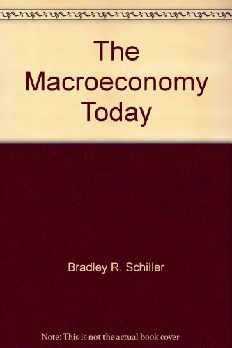 The macroeconomy today