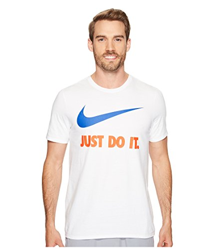 Sportswear Team Tee It Do NIKE Team Royal Swoosh White Orange Men's Just dYxYvZ
