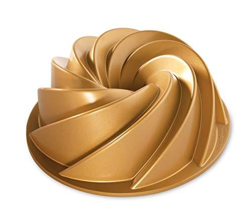 Nordic Ware 80677 Heritage Bundt Pan, One, Gold ()