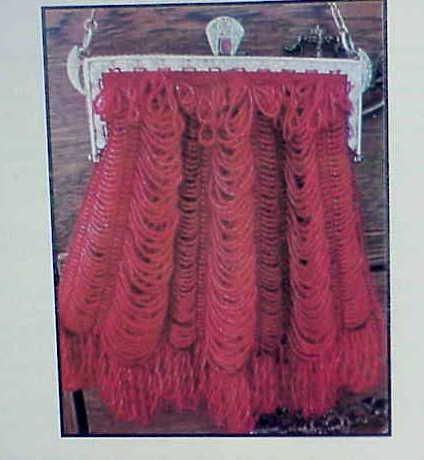 Chantress Vintage Beaded Knit Purse Pattern by Barbara Pratt