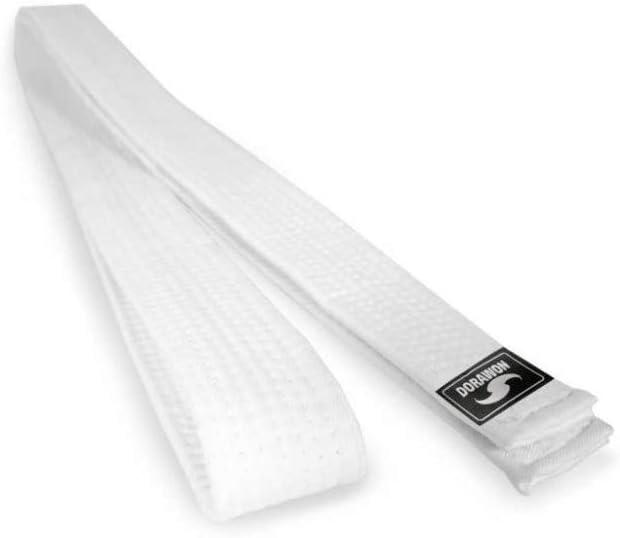 Dorawon Blanca cintur/ón en algod/ón Mixta ni/ño