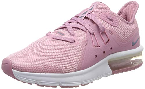 acumular sinsonte Avenida  Buy Nike Girl's Air Max Sequent 3 (GS) Running Shoe Elemental Pink/Ashen  Slate/Pink/White Size 6.5 M US at Amazon.in