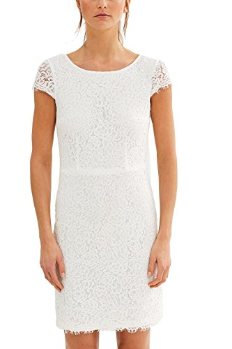 Off White Kleid Damen Collection 110 ESPRIT Weiß HZg8IZ1
