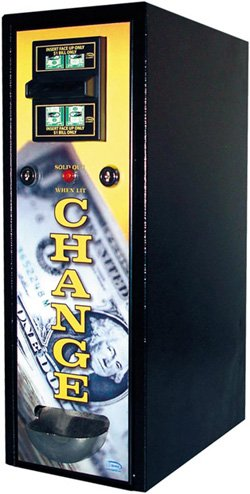 CM-1050 $1 & $5 Bill Changer Vending Machine w/ $120 Change Capacity by Seaga