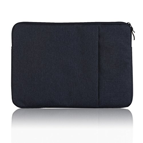 Jumper 13.3 Inch Laptop Sleeve Water-resistan Notebook Case Tablet Carrying Bag Cover(13 Inch, Purplish Blue)