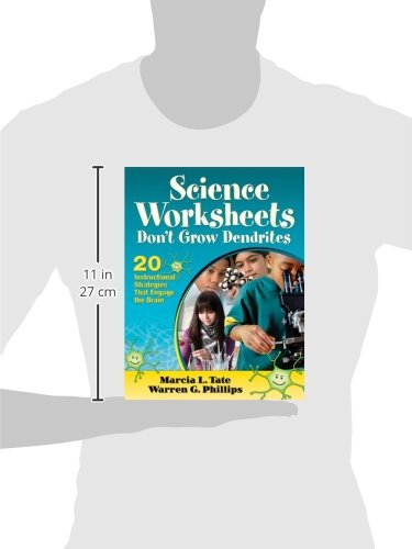 Science Worksheets Don't Grow Dendrites: 20 Instructional ...