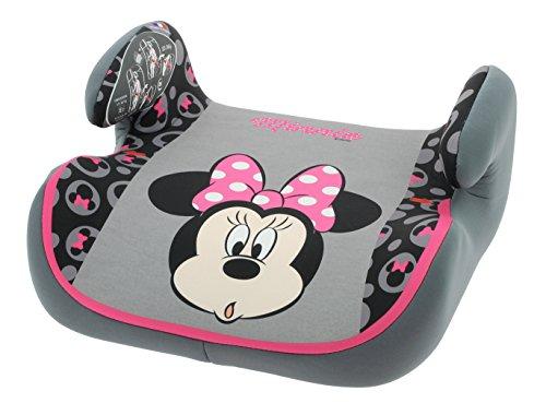 Disney e104-141-731 Kindersitz Sitzerhöhung Topo Luxe Minnie 2015, ECE Gruppe 2/3, von 15 bis 36 kg