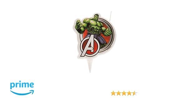 Dekora Innova Vela 2D de Hulk de Los Vengadores Medidas 2X7X15 CM