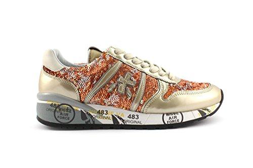 topschuhe24 Sneaker donna, Bianco (bianco), 38