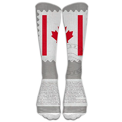 Costume Design School Toronto (Unisex Knee High Long Socks We Are North Raptor Slogan Canada Maple Cosplay High Long Stockings ZHONGJIAN)