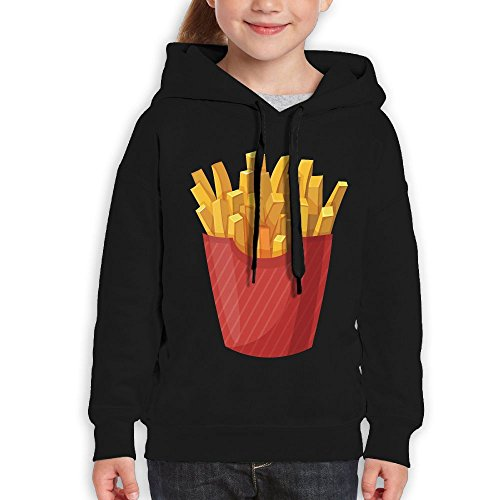 Custom Dance Costumes Makers (Unisex Casual Custom Fashion Hoodies, French Fries Fashion Youth Pullover Hood Medium)