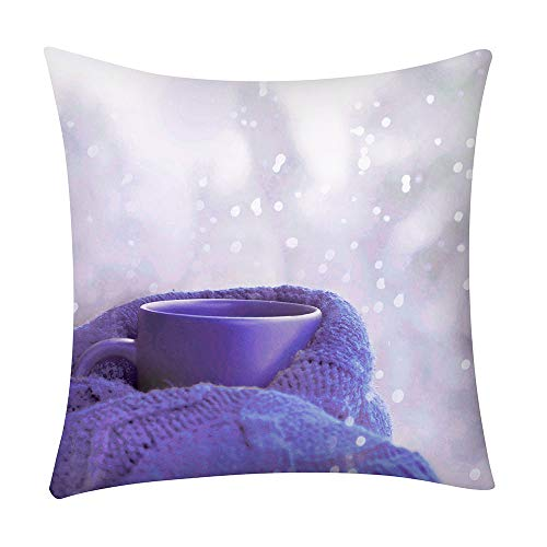 iZHH Pillow Case Fashion Print Sofa Car Cushion Cover Home -