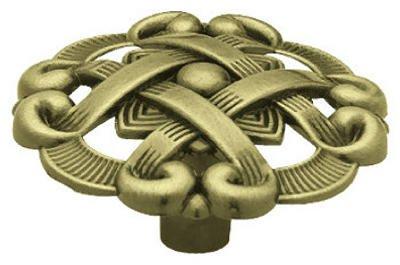 Brainerd Mfg Co/Liberty Hdw P77200L-AB-U Antique Brass Weave Cabinet Knobs, 2-Pk. - Quantity 5