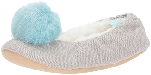 Tom Joule Damen X_slippoms Flache Hausschuhe Grey