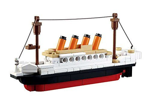 Titanic Building Bricks Set (194 Building Blocks) - Sluban M38-b0576