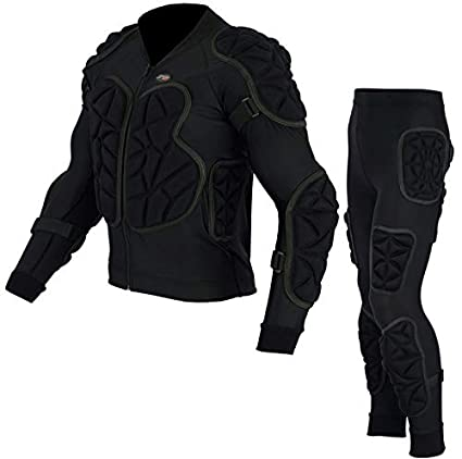 BODY ARMOUR CE MOTORBIKE MOTORCYCLE MOTOCROSS SKIING SPINE GUARD PROTECTIVE SUIT 2XL