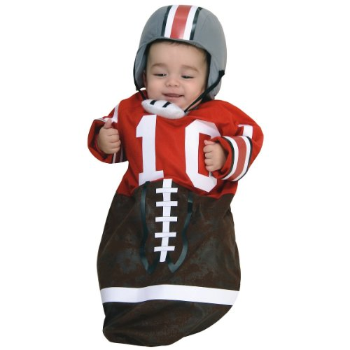 Best Halloween Costumes For Family Of 3 (Newborn Football Bunting, Newborn Ages 0-9 months))