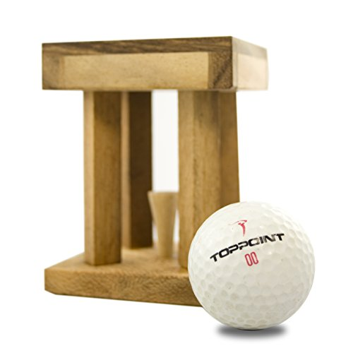 Woods Handicap The Golf Puzzle Game Of Skill Made From Wood