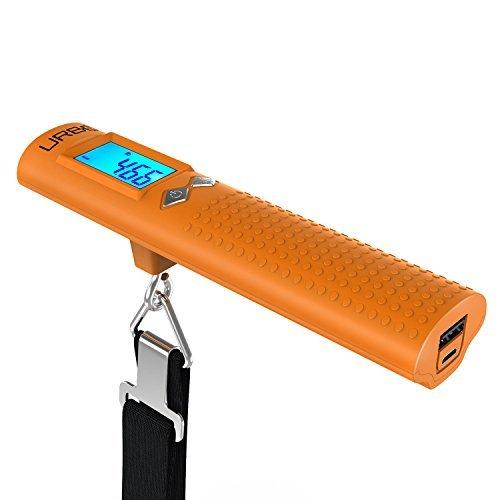 Urbo Multifunction 3-in-1 Digital Luggage Scale + Power Bank + Flashlight