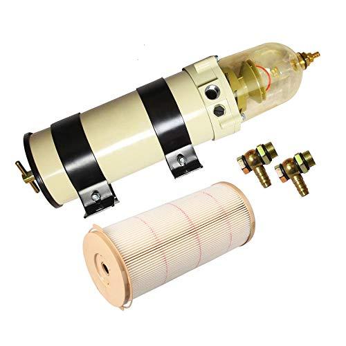 yjracing 1000 Series 1000FH 180GPH Equivalent Diesel Fuel Filter Water Separator Oil Filter Fit for 2000-2001 Honda CR-V EX LX SE Sport Utility 4-Door 2.0L