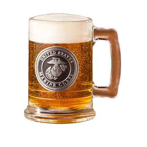 Personalized Military Emblem Steins - - Marine Personalized