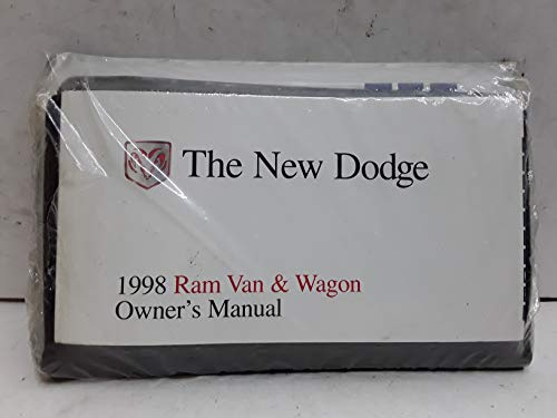 1998 Dodge Ram Van & Wagon Owners Manual