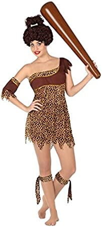 Atosa-26527 Disfraz Cavernícola, color marrón, XS-S (26527 ...
