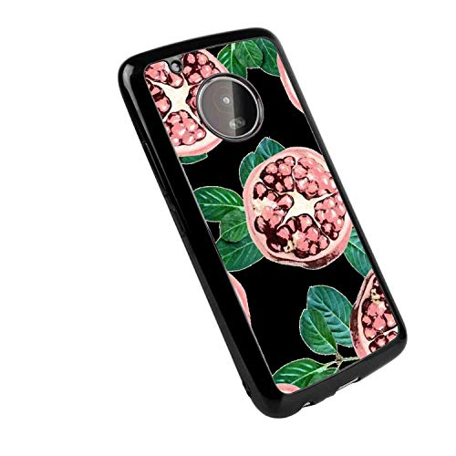 Red Pomegranate TPU Case Fit for Moto G5 Plus -
