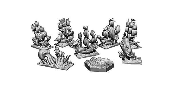 Eclipse Skull Tales A Toda Vela: Expansión Miniaturas de mar - Juego de Mesa: Amazon.es: Juguetes y juegos