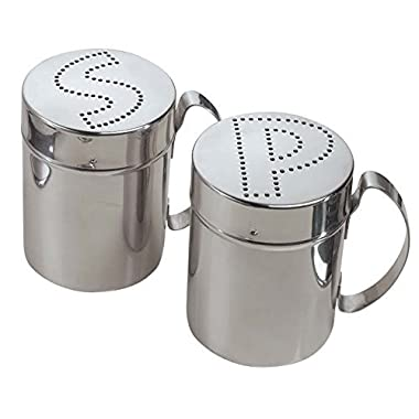Miles Kimball Stainless Steel Shakers