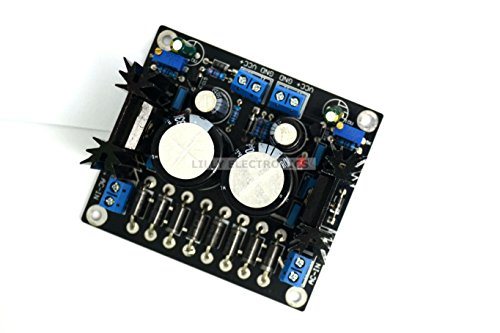 Q-BAIHE Sliding LT1083 adjustable power supply board HIFI linear power dual output