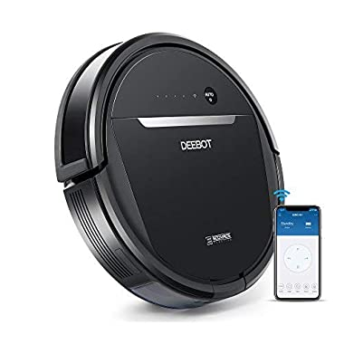 ECOVACS OZMO 601 Self-Charging Robot Mop & Vacuum w/Smart Phone App Controls, Auto-Clean Mode, 2 Specialized Cleaning Modes, Digital Mop for Pet Hair, Dirt, Dried Liquids & Hard Floors