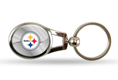 Rico NFL Pittsburgh Steelers Oval Keychain