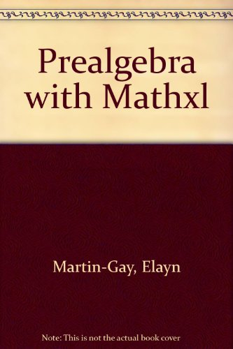 Prealgebra with MathXL (6th Edition)