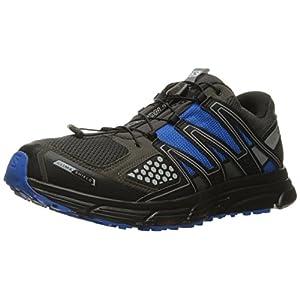 Salomon Men's X-Mission 3 CS-M Trail Runner, Autobahn/Black/Union Blue, 9 D US